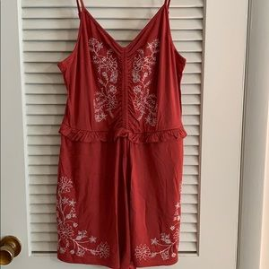 American Eagle Romper NWT, size Large, pockets